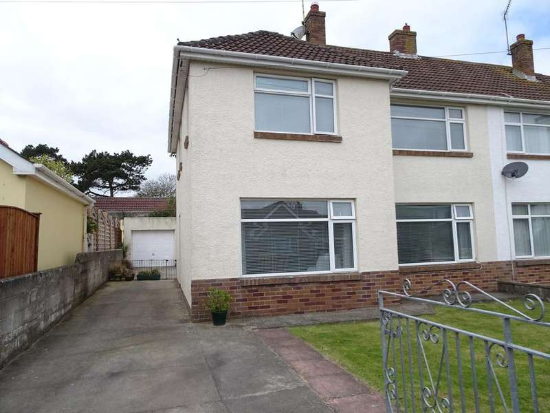 3 Bedrooms Semi Detached House for sale in BRYNEGLWYS AVENUE, NEWTON, PORTHCAWL
