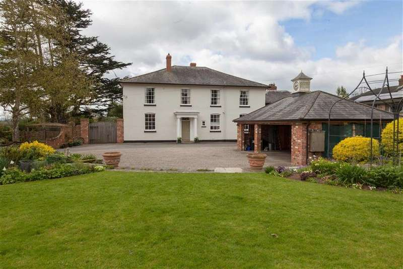 6 Bedrooms Detached House for sale in BYFORD, Byford Hereford, Herefordshire