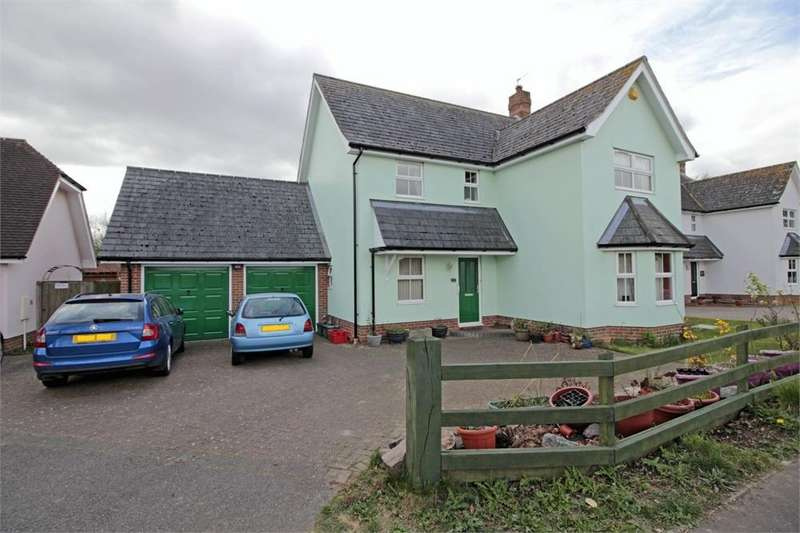 4 Bedrooms Detached House for sale in Oak Road, Tiptree, COLCHESTER, Essex