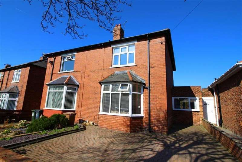 2 Bedrooms Semi Detached House for sale in Addington Crescent, North Shields