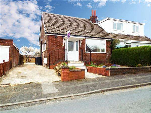 3 Bedrooms Semi Detached Bungalow for sale in Clough Road, Shaw
