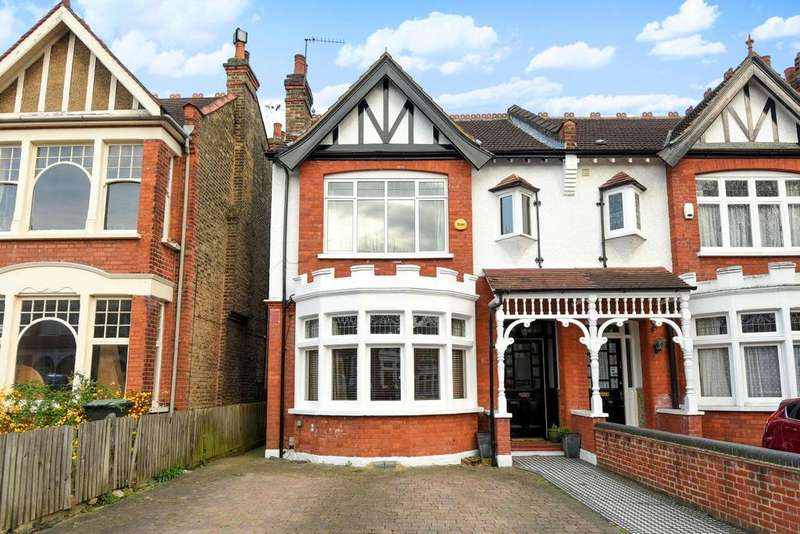 5 Bedrooms Semi Detached House for sale in Derwent Road, Palmers Green, N13