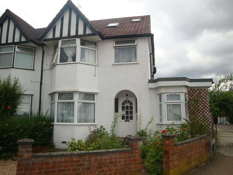 4 Bedrooms Semi Detached House for sale in Merlin Crescent, Edgware