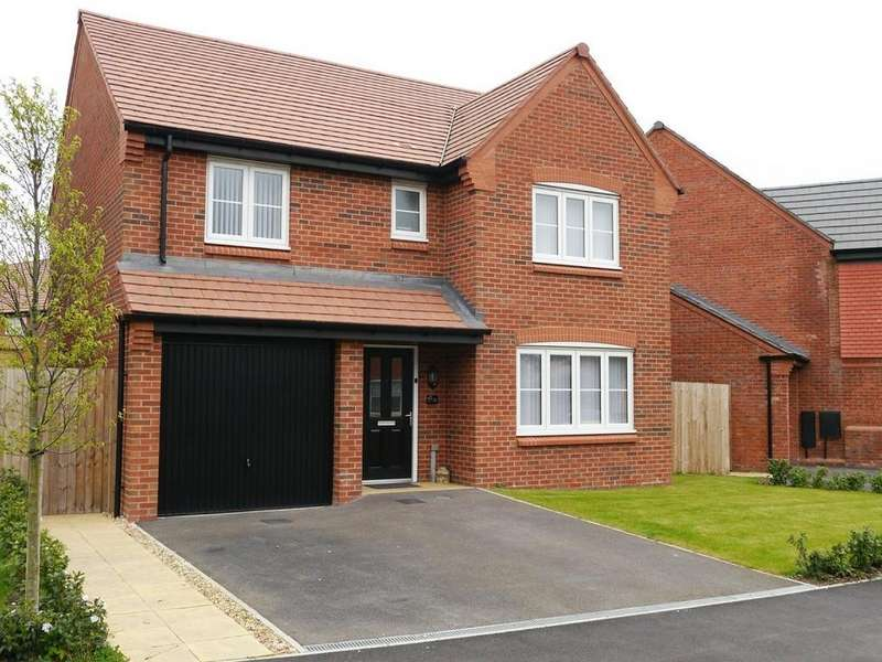 4 Bedrooms Detached House for sale in The Nook, Cuddington, CW8 2BF