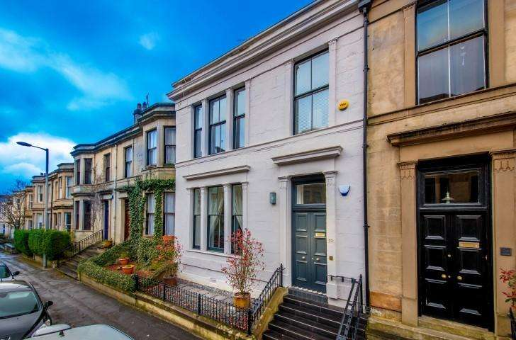 5 Bedrooms Town House for sale in 33 Clouston Street, North Kelvinside, G20 8QR