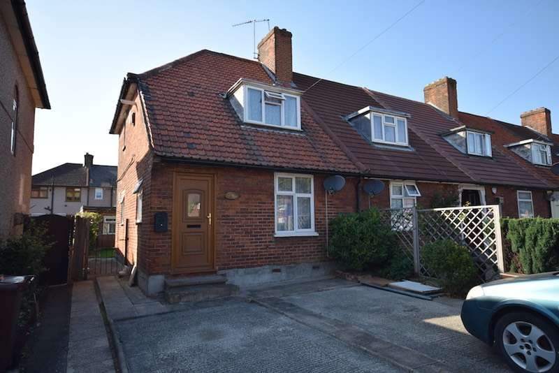 2 Bedrooms End Of Terrace House for sale in Valence Avenue, Dagenham, Essex, RM8