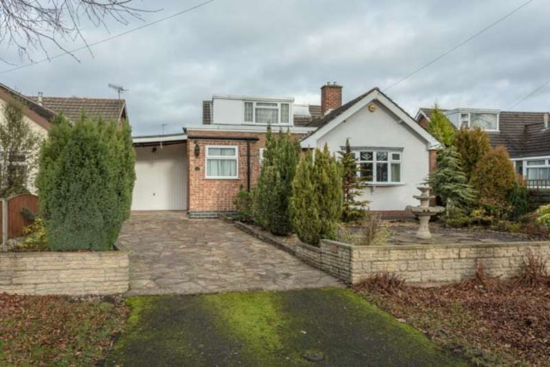 3 Bedrooms Bungalow for sale in Coach Drive, Eastwood, Nottinghamshire, NG16