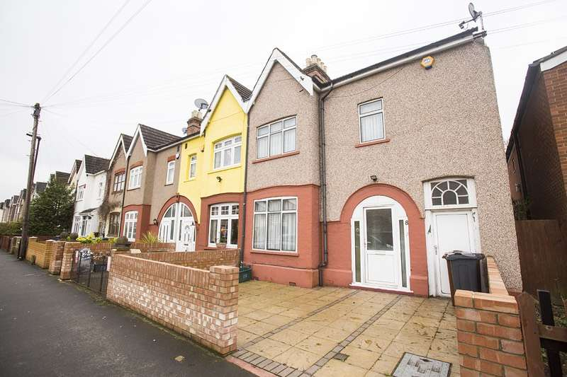 4 Bedrooms End Of Terrace House for sale in Danesbury Road, Feltham, Middlesex, TW13