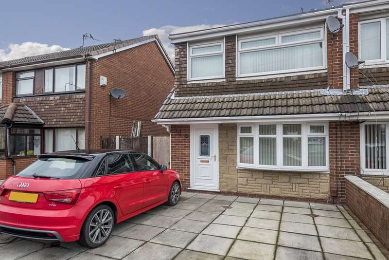 3 Bedrooms Semi Detached House for sale in Clare Close, St. Helens, Merseyside, WA9