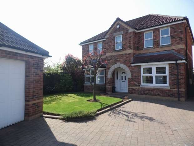 4 Bedrooms Detached House for sale in Hampson Gardens Edenthorpe Doncaster