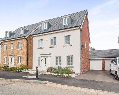 5 Bedrooms Detached House for sale in Apollo Avenue, Cardea, Peterborough, Cambridgeshire