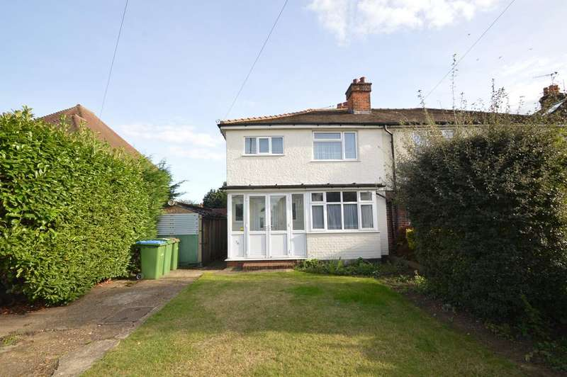 3 Bedrooms Semi Detached House for sale in Terrace Road, WALTON ON THAMES KT12
