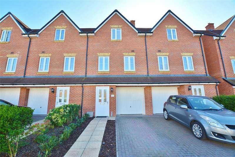 3 Bedrooms Terraced House for sale in Three Valleys Way, Bushey, Hertfordshire, WD23