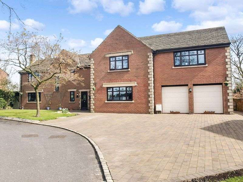 5 Bedrooms Detached House for sale in Manor House Drive, Skelmersdale, Lancashire WN8