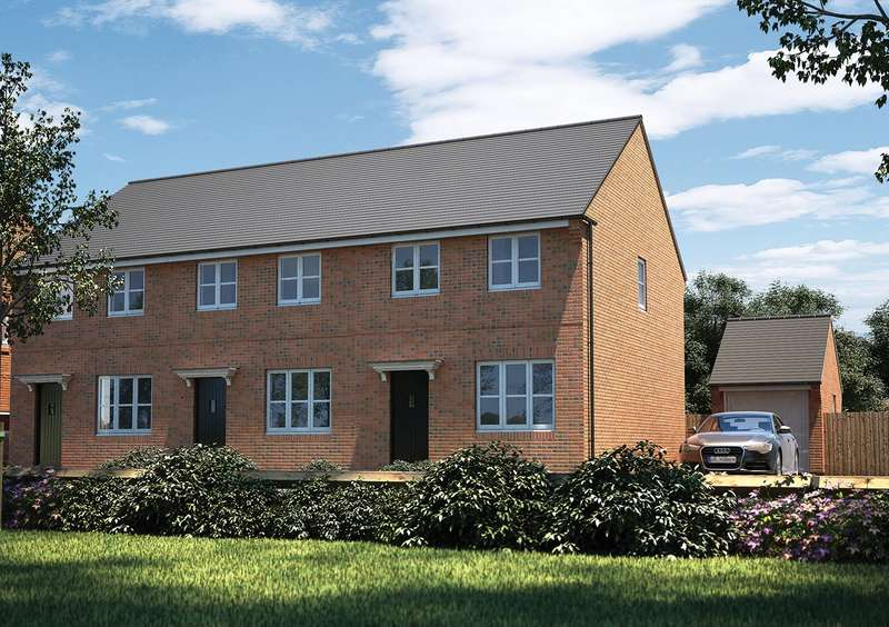 3 Bedrooms End Of Terrace House for sale in Ampthill Chase, Abbey Lane, Ampthill, Bedfordshire, MK45