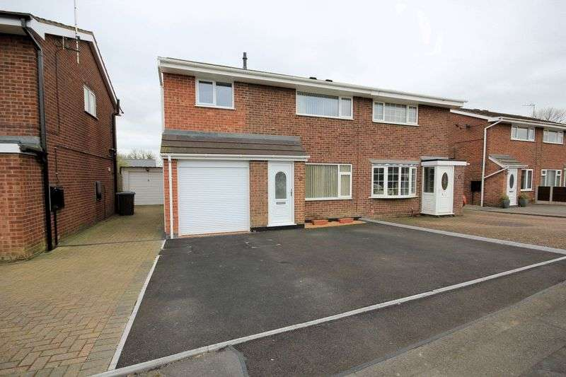 3 Bedrooms Semi Detached House for sale in Kempton Grove, Cheadle, Stoke-On-Trent