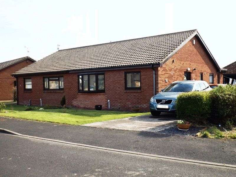 2 Bedrooms Semi Detached Bungalow for sale in Newmoor Close, Amble - Two Bedroom Semi Detached Bungalow