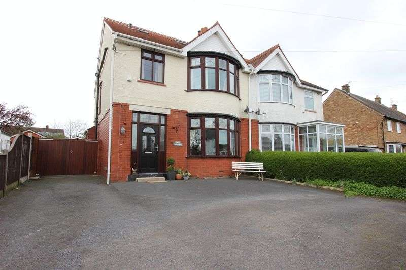 4 Bedrooms Semi Detached House for sale in 24 Garstang Road East, Poulton-Le-Fylde, Lancs FY6 7EH