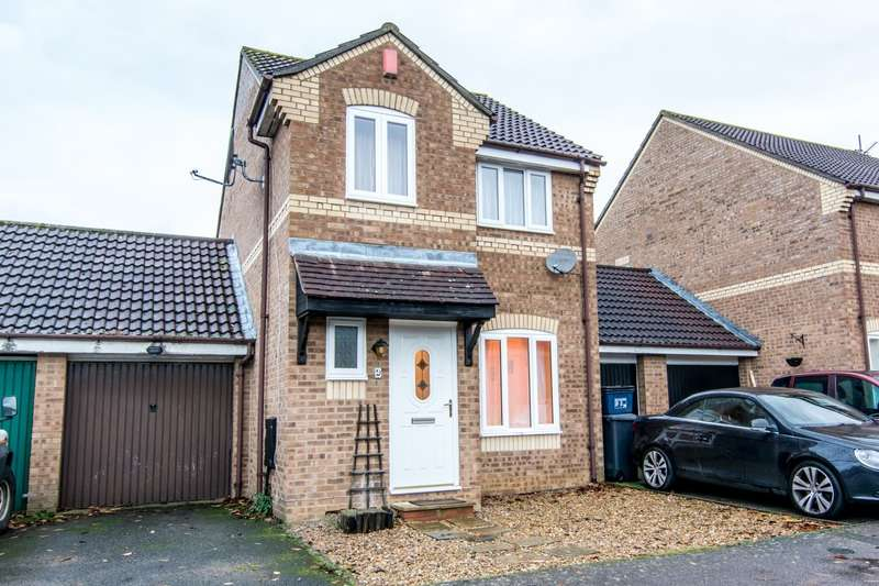 3 Bedrooms Detached House for sale in Oransay Close, Northampton, Northamptonshire, NN3
