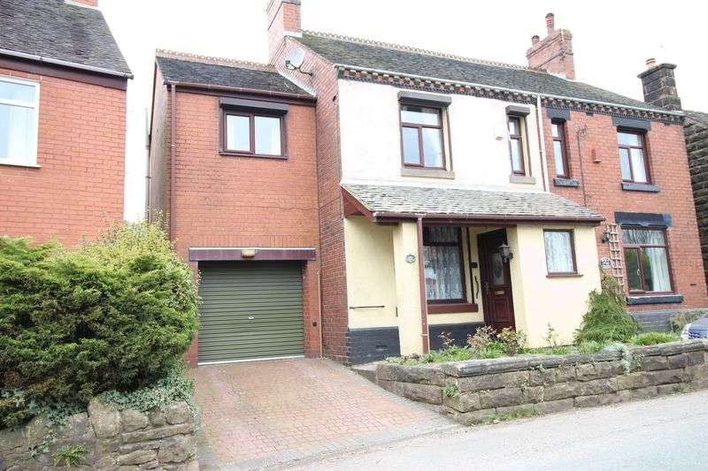4 Bedrooms Semi Detached House for sale in New Street, Biddulph Moor, Staffordshire, ST8 7NW