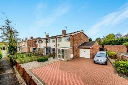 3 Bedrooms End Of Terrace House for sale in Willoughby Close, Great Barford, Bedford, Bedfordshire