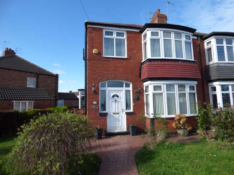 3 Bedrooms Semi Detached House for sale in Tyne Road, Redcar