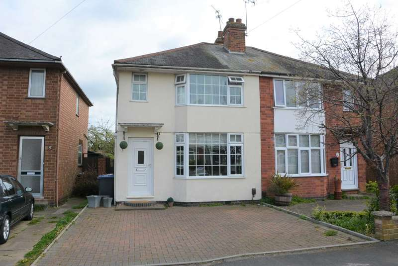 3 Bedrooms Semi Detached House for sale in Heath Way, Hillmorton