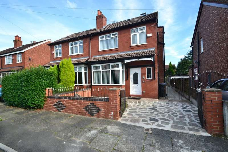 4 Bedrooms Semi Detached House for sale in Bonis Crescent, Great Moor, Stockport SK2 7HH