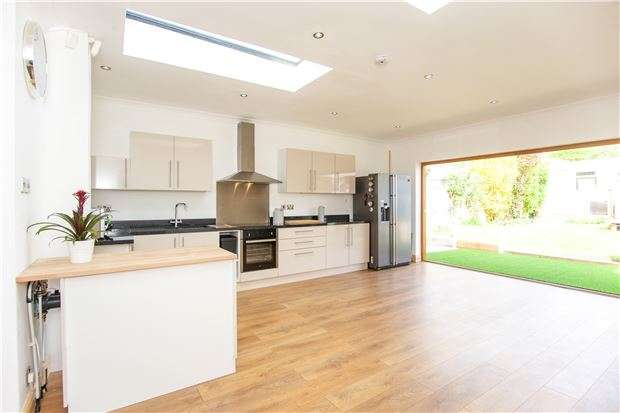 3 Bedrooms End Of Terrace House for sale in Berkeley Road, KINGSBURY, NW9 9DG