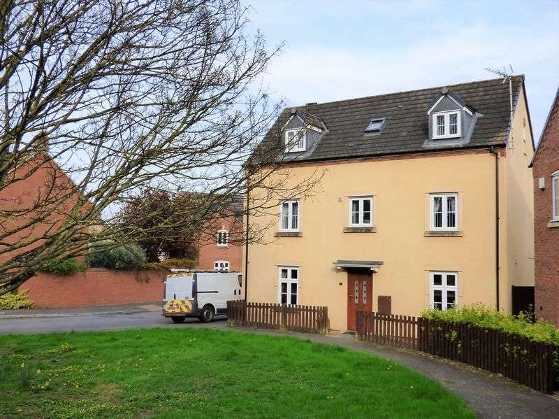 4 Bedrooms Detached House for sale in Chivenor Way Kingsway, Gloucester