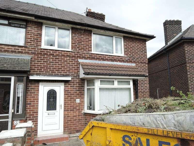 3 Bedrooms Semi Detached House for sale in Denville Crescent, Manchester