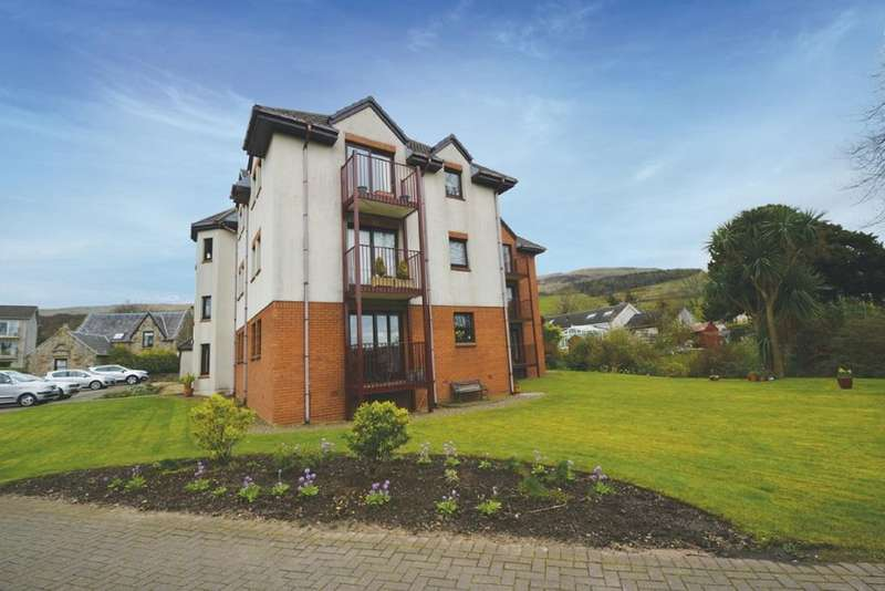 2 Bedrooms Ground Flat for sale in 5 Fairlieburne Gardens, Fairlie, KA29 0ER