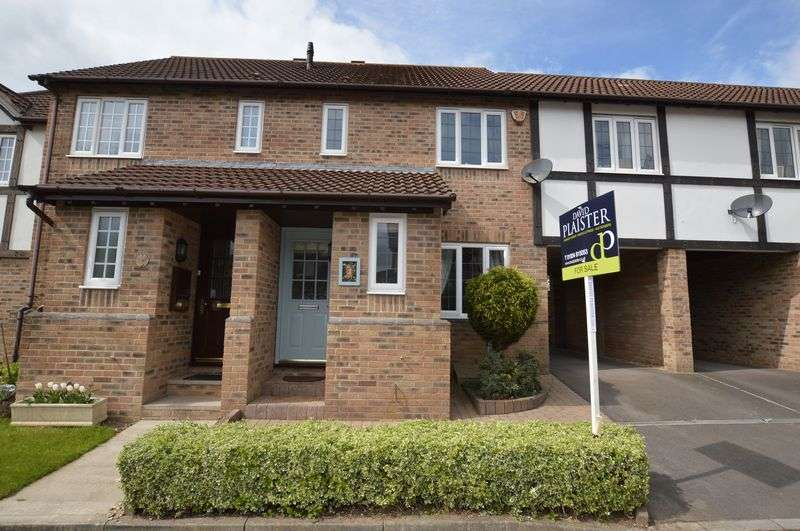 2 Bedrooms Terraced House for sale in Snowdrop Close, Wick St Lawrence, Weston-Super-Mare