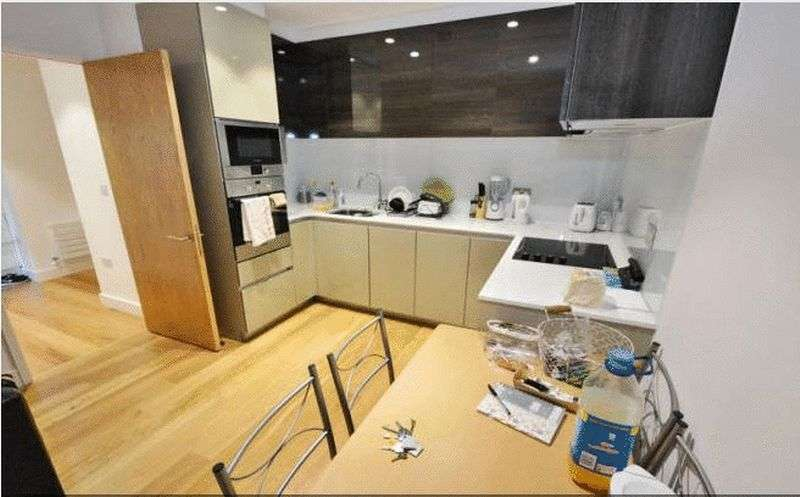 2 Bedrooms Flat for sale in Bywell Place, London