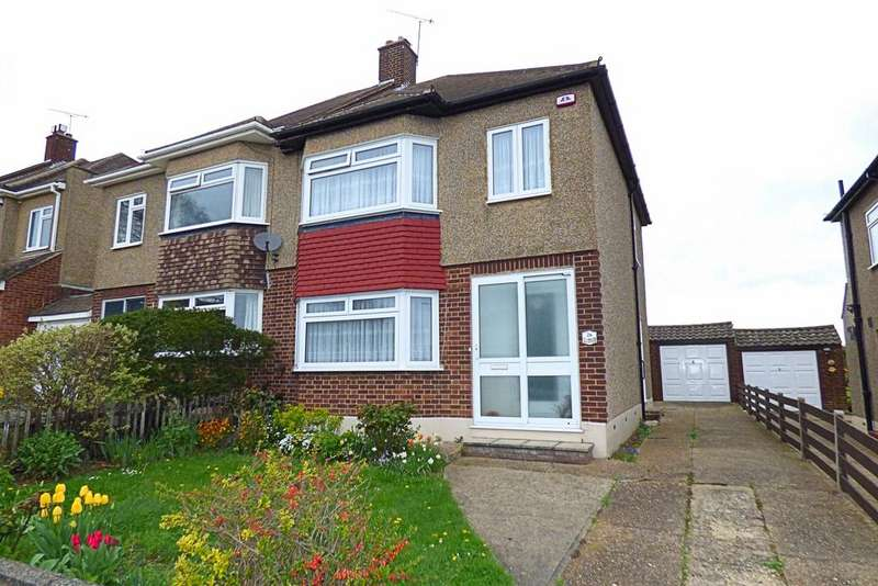 3 Bedrooms Semi Detached House for sale in Esdaile Gardens, Upminster RM14
