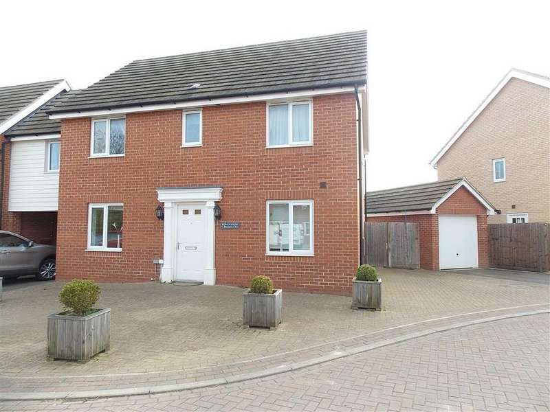 4 Bedrooms Detached House for sale in Blenheim Close, Upper Cambourne, Cambridge