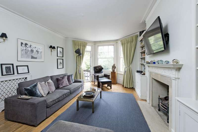 2 Bedrooms Flat for sale in Albany Mansions, Albert Bridge Road, SW11