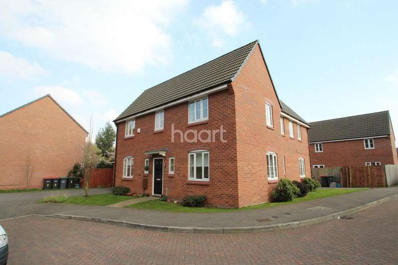 4 Bedrooms Detached House for sale in Poppy Mews, Hucknall