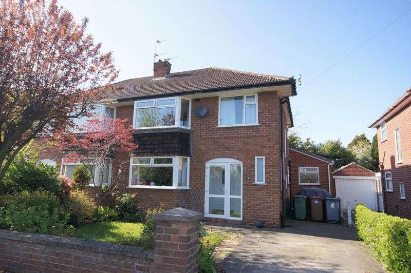 3 Bedrooms Semi Detached House for sale in Meadowcroft, Heswall