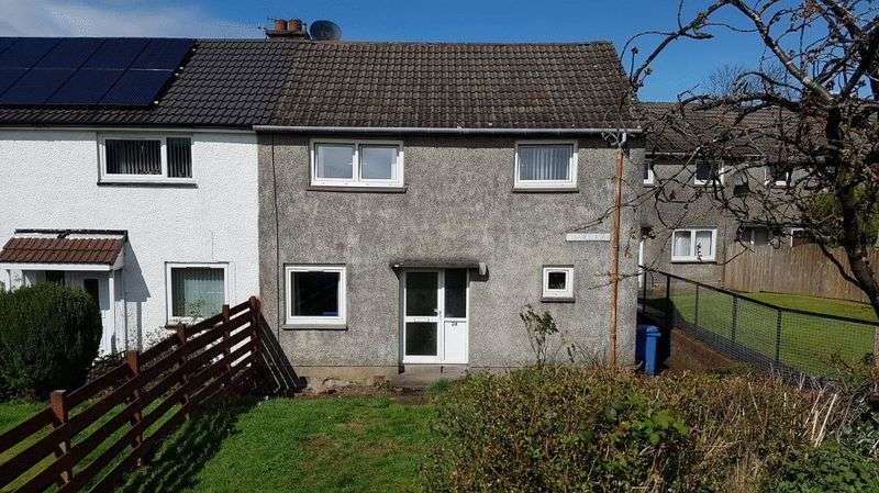 3 Bedrooms Semi Detached House for sale in Glen Avenue, Haldane , Balloch