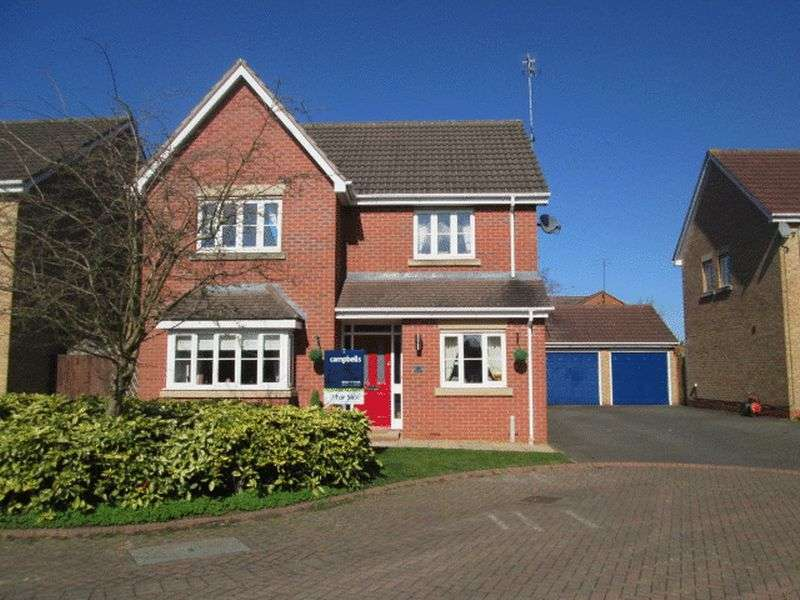 4 Bedrooms Detached House for sale in Wilson Close, Daventry, NN11 9WH