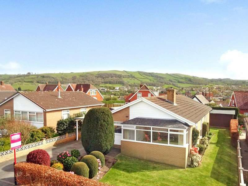 4 Bedrooms Detached Bungalow for sale in Churchill Drive, Newtown, Powys