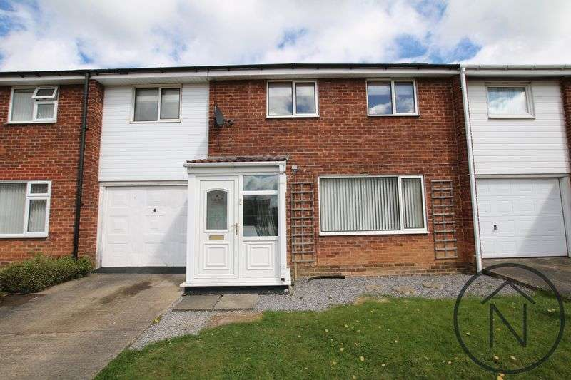3 Bedrooms Terraced House for sale in Chapman Close, Newton Aycliffe