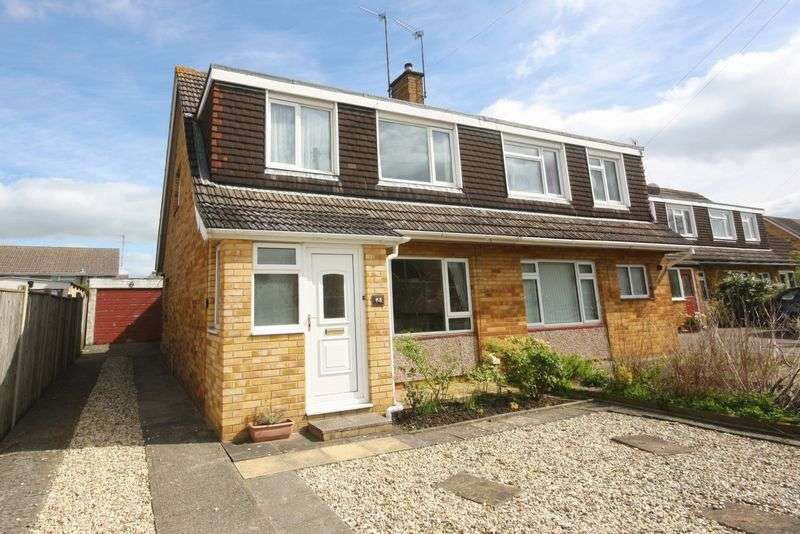 3 Bedrooms Semi Detached House for sale in Caernarvon Road, Hatherley Cheltenham