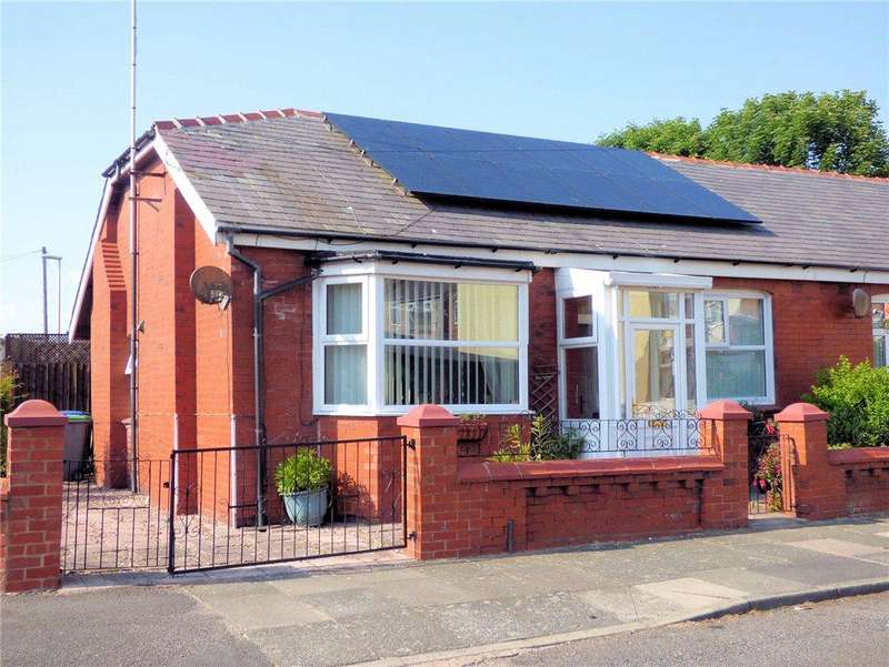 2 Bedrooms Semi Detached Bungalow for sale in Granville Road, Blackpool, Lancashire
