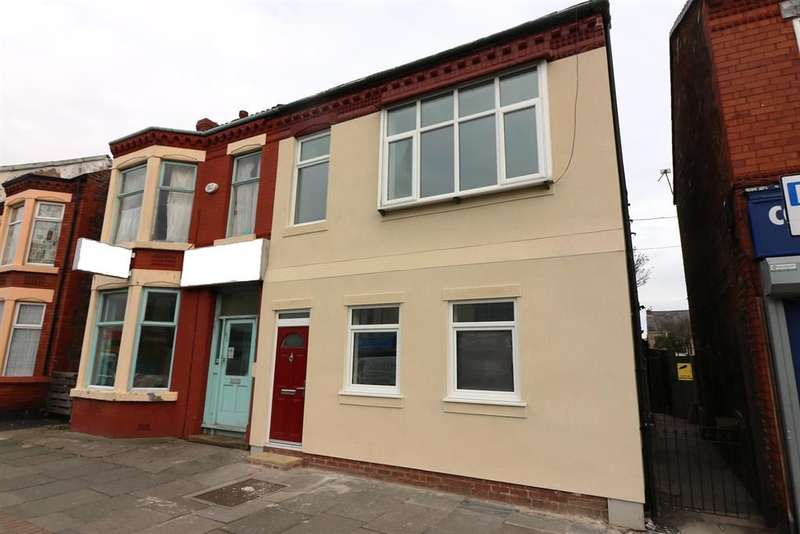 2 Bedrooms Apartment Flat for sale in Seaview Road, Wallasey, Wirral