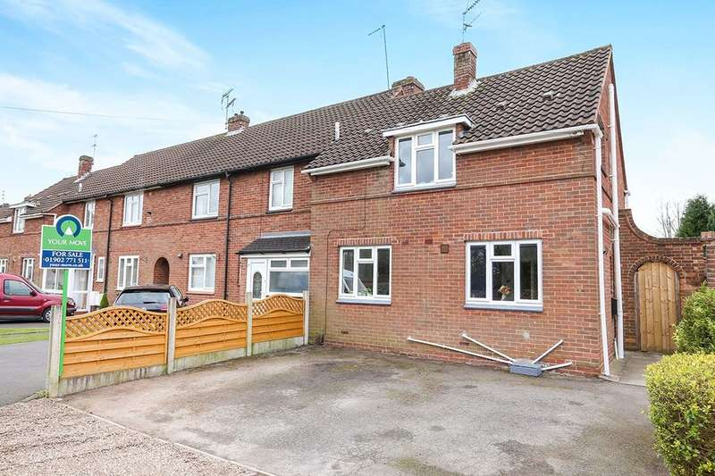 2 Bedrooms Semi Detached House for sale in Penk Rise, Wolverhampton, WV6