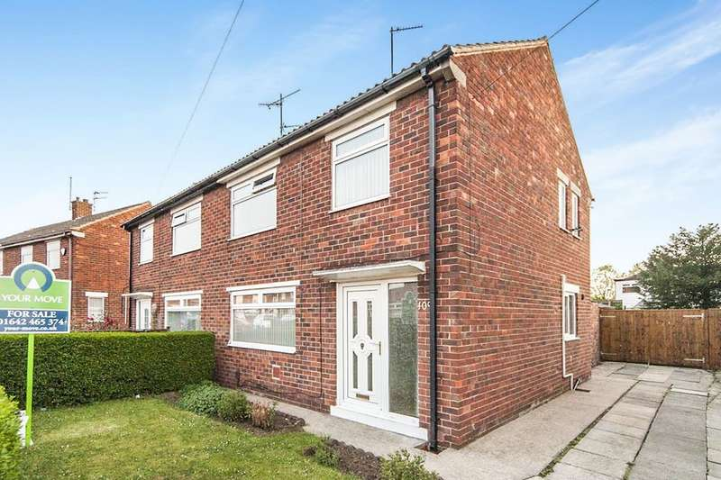 3 Bedrooms Semi Detached House for sale in Nightingale Road, Middlesbrough, TS6