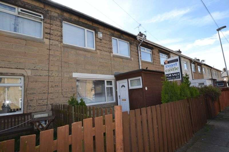 3 Bedrooms Terraced House for sale in King Georges Road, Newbiggin-By-The-Sea