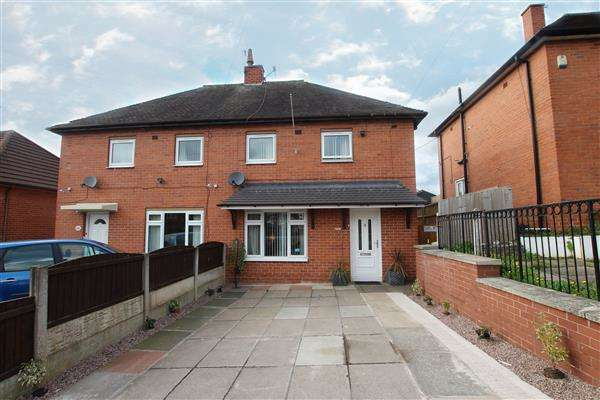 2 Bedrooms Semi Detached House for sale in Rochester Road, Sandfordhill, Stoke-on-Trent